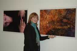 Showing digital works at WPCC Dubbo, 2009