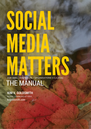 Social Media Matters digital marketing training Kim V. Goldsmith Dubbo NSW